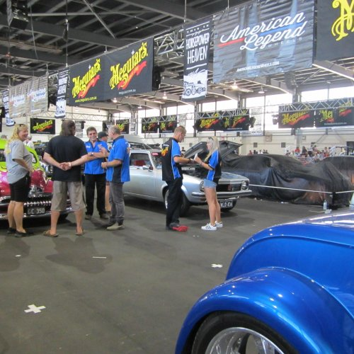 In the pavilions - Summernats - 2018