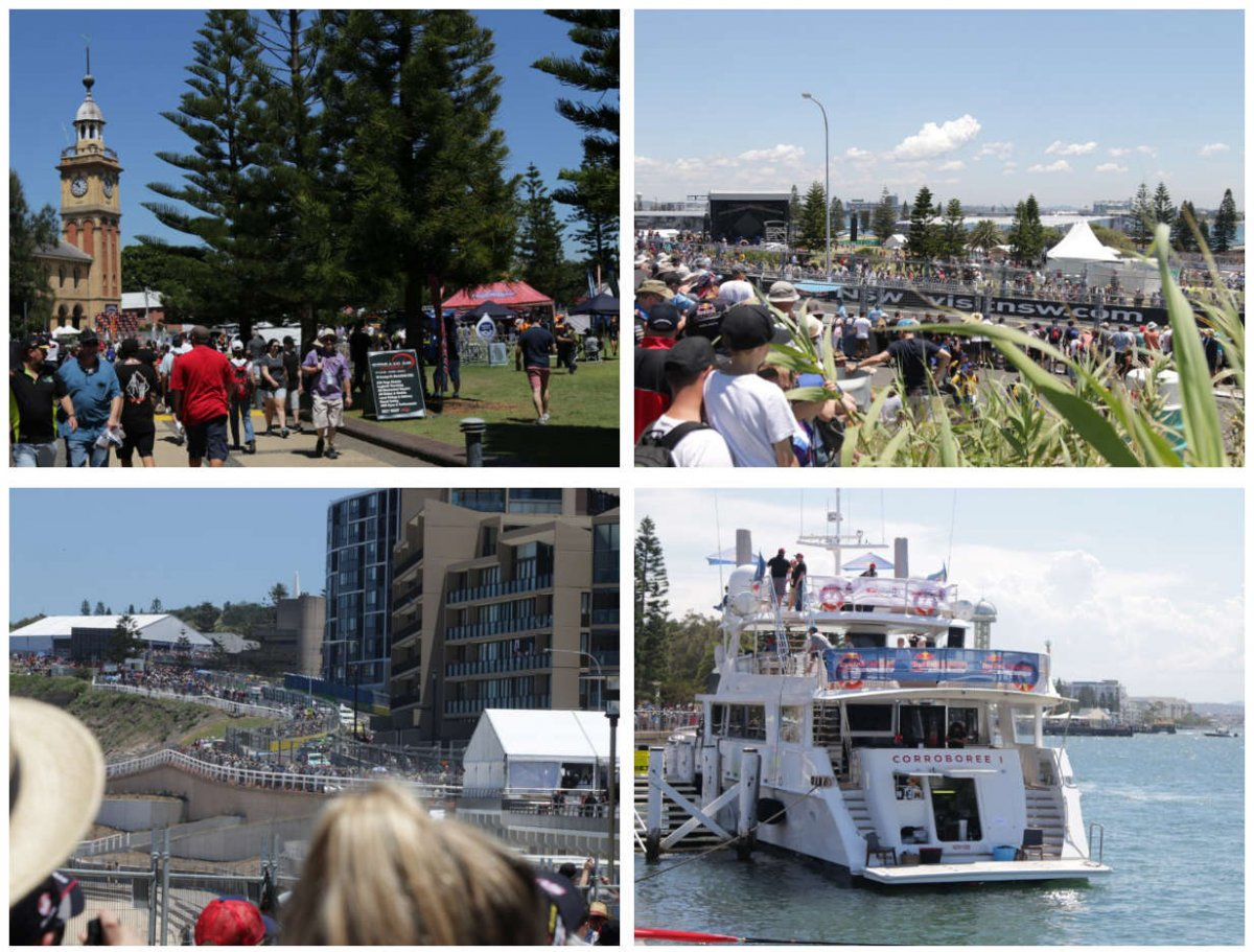 Images from Newcastle 500.