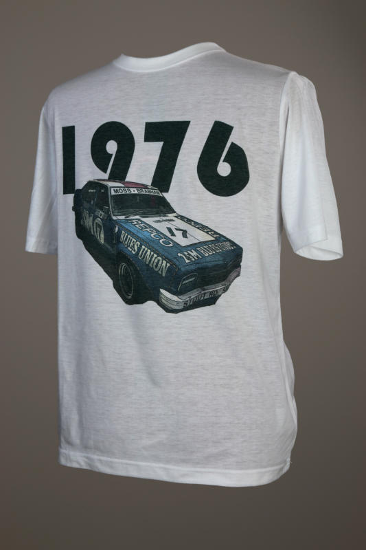 T-Shirt, 1976 Moss and Brabham