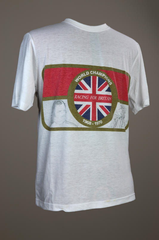 Racing for Britan - shirt, left